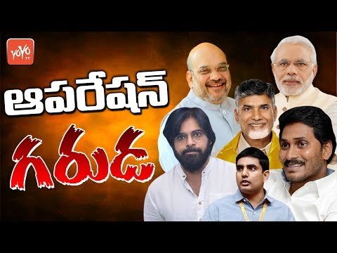 AP Minister Lokesh Reacts On Operation Garuda | AP Politics | Chandrababu | YOYO TV Channel