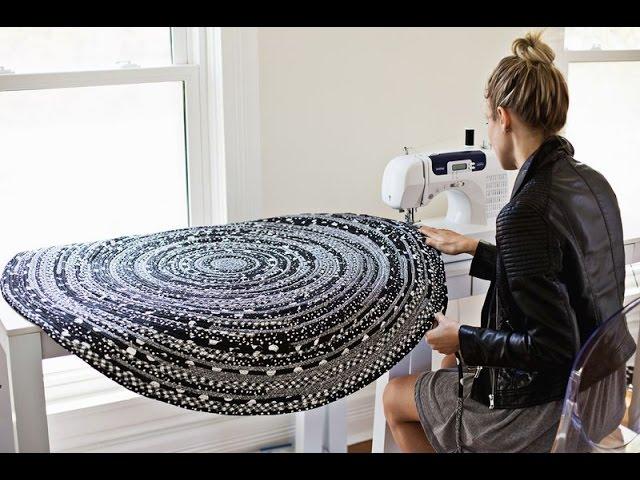 Утилитарное рукоделие коврики из лоскутков и бельевой