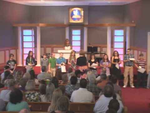 Cleveland Christian School Awards Night - 05/17/2013