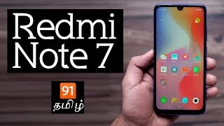 Redmi note 7 in தமிழ்: Unboxing | Hands-on | Price [Tamil-தமிழ்]