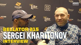 Bellator 215: Sergei Kharitonov Believes Fedor Emelianenko Has Two or Three Years of Fighting Left