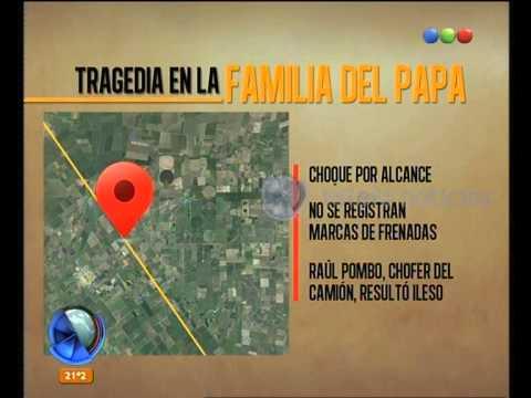 Fallecieron familiares de Bergoglio: más detalles del accidente - Telefe Noticias