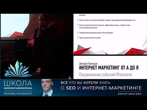 Продвижение мероприятий в социальных сетях (ВКонтакте, VK) - часть 1
