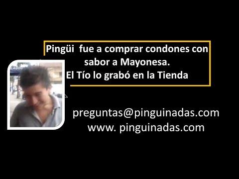 Pingui fue a comprar condones con sabor a mayonesa