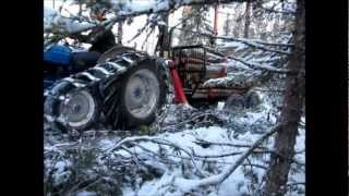 Fordson SuperSuper Dexta at work / Dexta töissä