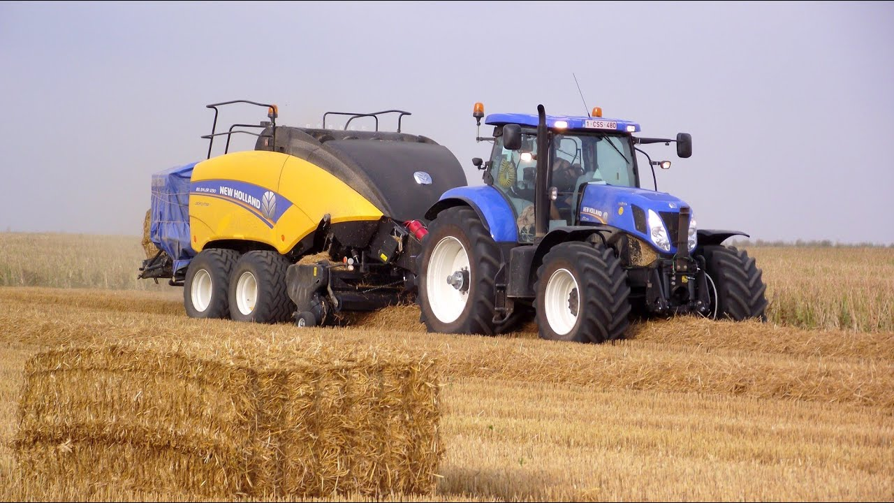 New 2012 New Holland Bb 1290 Au Pressage De La Paille En
