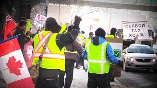 Media tries to discredit Calgary Yellow Vest Protests