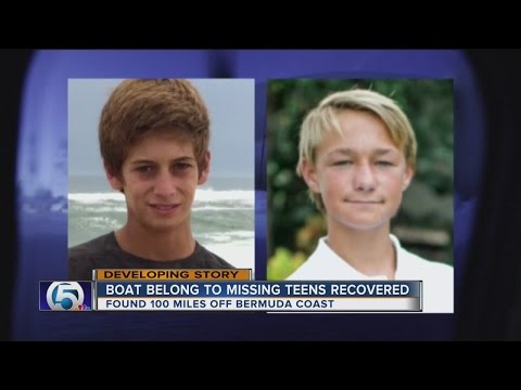 Boat belong to missing teens recovered