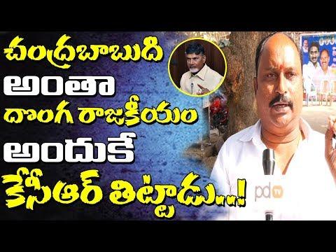 AP Politics | చంద్రబాబును కెసిఆర్ ఎందుకు తిట్టాడో తెలుసా..! | Public Talk | PDTV News
