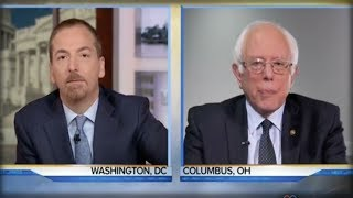 NBC HACK IS A LAUGHING STOCK AFTER FAILING TO ASK BERNIE THIS 1 QUESTION