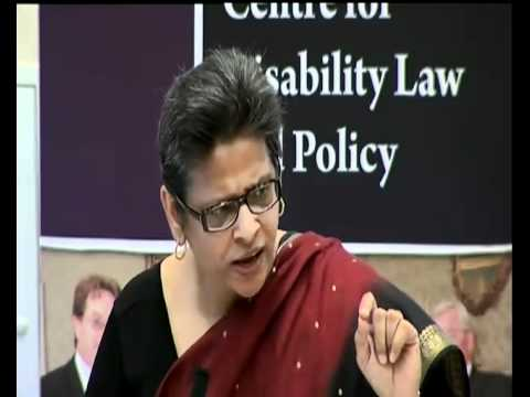 Mental health law reform in the new and old paradigm of legal capacity, Prof Amita Dhanda