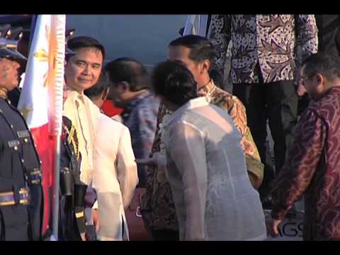 Arrival of Indonesian President Joko Widodo to the Philippines 2/8/2015