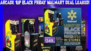Wal-Mart Black Friday Ad Leaked! Pac-Man & Galaga Arcade 1up Cabinets!