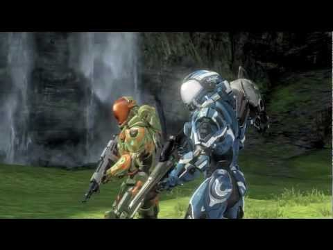 Naked Woman & Aliens (halo 4 reach Machinima) video