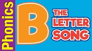 The Letter B Song | Phonics Song | The Letter Song | ESL for Kids | Fun Kids English