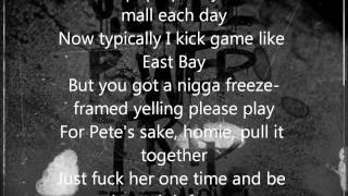 J. Cole - Power Trip ft. Miguel *Lyrics On Screen*