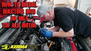 How to install Upgraded Injectors in a MK4 TDI ALH Jetta/Golf - S6EP22