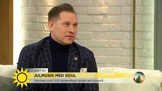 """Samuel Ljungblad om svänget i soul och gospel: """"Tycker om sväng och glädje"""" - Nyhetsmorgon (TV4)"""