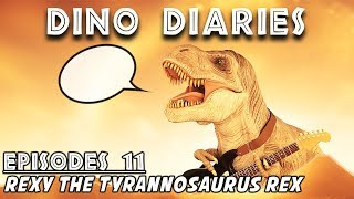 Dino Diaries: Rexy the Tyrannosaurus Rex  |  If Dinosaurs in Jurassic World Evolution Could Talk