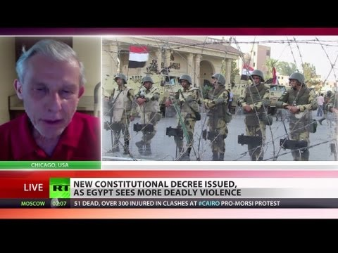 'Egypt post-coup outrage won't end easily, more blood will be spilt'