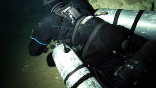 xDeep Stealth Sidemount in Mexican Cave Action