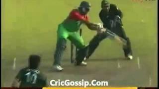 Shahid Afridi 5 Wickets Against Bangladesh Pakistan Vs Bangladesh 1st ODI 2011