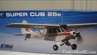 E-flite Super Cub 25e Out of The Box  Preview