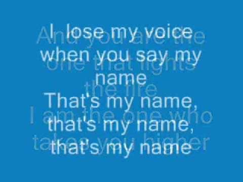 That My Name Lyrics ft Edward Maya