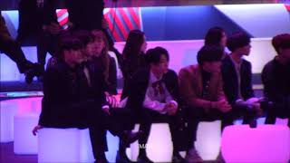 171201 MAMA GOT7 Reaction To Wanna One - Beautiful