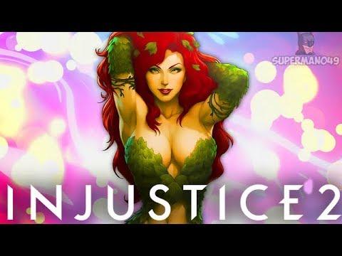 LEGENDARY POISON IVY & BRAINIAC THE 50/50 MACHINE - Injustice 2 Poison Ivy & Brainiac Gameplay