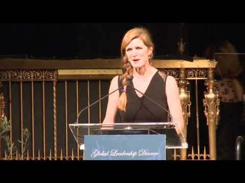 Samantha Power: 2013 Global Leadership Dinner