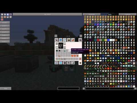 Как сделать панель в minecraft