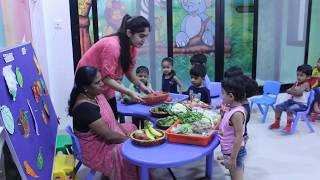 Fruits and Vegetables theme - Preschool Learning - Playgroup 1