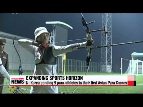 North Korea decides to send disabled athletes to Asian Para Games in Incheon   인