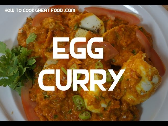 Egg Curry Recipe - Indian Cooking Masala