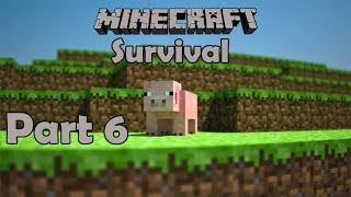 Minecraft Survival Part 6 - DE KOEIEN BEGINNEN AAN HUN EIGEN SURVIVAL!!