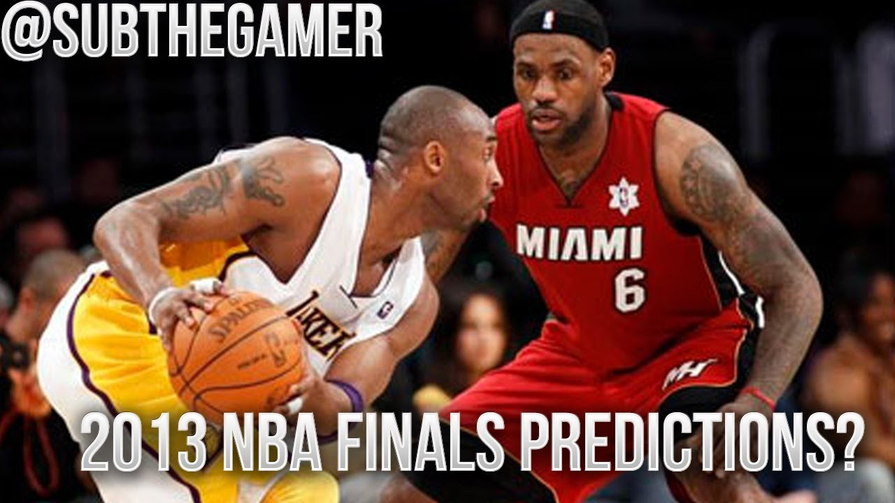 NBA 2K13 - NBA Finals Predictions | The Miami Heat vs The Los Angeles Lakers!? - YouTube