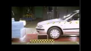 Crash test Mitsubishi Carisma 2001