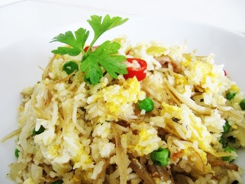 Easy One Pot Fried Rice 炒饭(no pre-cooked rice/ no rice cooker needed) Riso alla cantonese