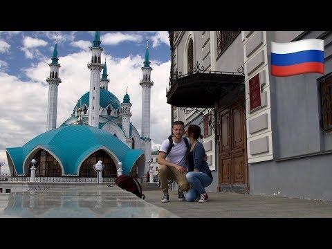 WELTREISE VLOG #06 |Transmongolische Eisenbahn: 3. Klasse. Moskau nach Kasan. Tatarstan, wir kommen!