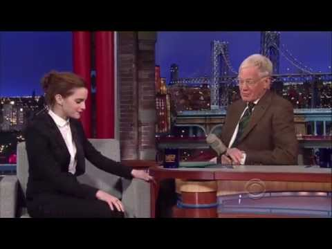 Emma Watson - Late Show with David Letterman (2014) HD
