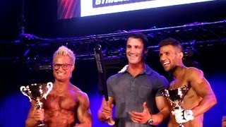 Greg Plitt motivation speech about Model competitions