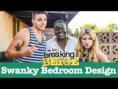 Swanky Bedroom Design (PART 1) | Breaking Beige | Before and After | DIY Home Decor | Mr Kate