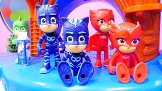 Çizgi film Pijamaskeliler maceraları. En sevilen çocuk videoları
