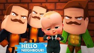 Minecraft - BOSS BABY & HELLO NEIGHBOUR GET REVENGE!