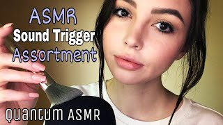 ASMR | Sound Triggers ~ Scratching ~ Brushing ~ Tapping | Quantum ASMR