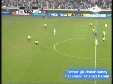 Peru 1 Ecuador 0 (Relato Gustavo Cima) Eliminatorias Rumbo a Brasil 2014 (7/6/2013)