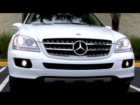 2007 Mercedes-Benz ML320 CDI Alabaster White