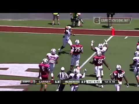 Highlights: South Carolina Football Garnet & Black Spring Game