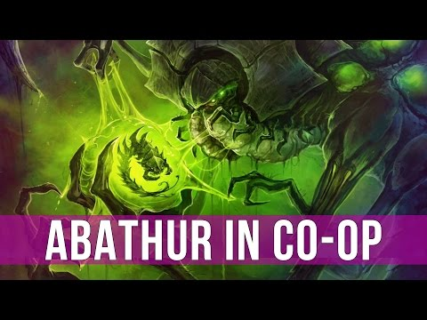 StarCraft 2: Legacy of the Void - Commander Abathur Co-op Gameplay!